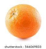 orange isolated on the white...   Shutterstock . vector #566069833