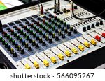buttons equipment in audio...