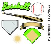 Baseball Icon Set For Designers