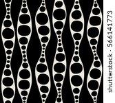 seamless geometric pattern.... | Shutterstock .eps vector #566141773
