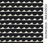 seamless nautical pattern. hand ... | Shutterstock .eps vector #566142013