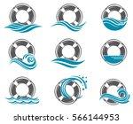 Collection Of Lifebuoy Symbol...