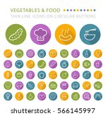set of 45 elegant universal... | Shutterstock .eps vector #566145997