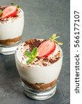 summer dessert  classic... | Shutterstock . vector #566177107
