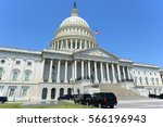 united states capitol building... | Shutterstock . vector #566196943