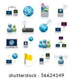 internet icons | Shutterstock .eps vector #56624149