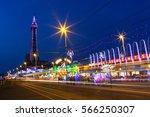 blackpool  uk  september 14  ... | Shutterstock . vector #566250307