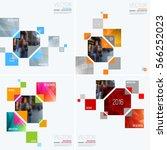 business vector design elements ... | Shutterstock .eps vector #566252023