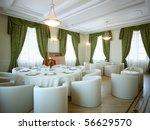 3d interior salon and classic... | Shutterstock . vector #56629570