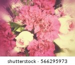 vintage flower wallpaper for... | Shutterstock . vector #566295973