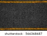 asphalt background texture with ... | Shutterstock . vector #566368687