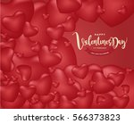 happy valentine's day and...   Shutterstock .eps vector #566373823