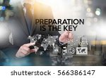 be prepared and preparation is... | Shutterstock . vector #566386147