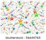 stars background. | Shutterstock . vector #56644765