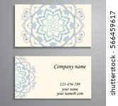 invitation  business card or... | Shutterstock .eps vector #566459617