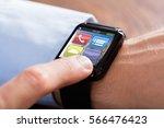 close up of a businessman hand...   Shutterstock . vector #566476423
