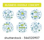 doodle vector illustrations of... | Shutterstock .eps vector #566520907