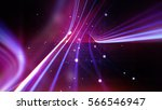 streaking shiny purple lines as ... | Shutterstock . vector #566546947