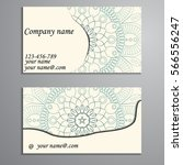 invitation  business card or... | Shutterstock .eps vector #566556247
