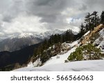 slope in the background of...   Shutterstock . vector #566566063