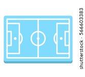 soccer football field arena...   Shutterstock .eps vector #566603383