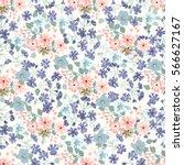 elegant gentle trendy pattern... | Shutterstock . vector #566627167