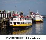Two Casco Bay Ferries In The...