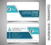 blue modern creative business... | Shutterstock .eps vector #566666953