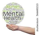 concept conceptual mental... | Shutterstock . vector #566683213