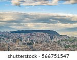 cityscape panoramic aerial view ... | Shutterstock . vector #566751547