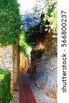 Small photo of country alleyway in Eze Village