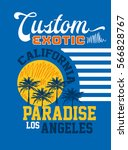 california custom exotic... | Shutterstock .eps vector #566828767