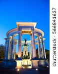 Small photo of Welsh National War Memorial Statue, Alexandra Gardens, Cathays Park, Cardiff, Wales , UK