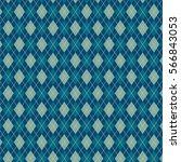 bright blue pattern of diamonds ...   Shutterstock .eps vector #566843053