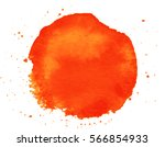 colorful abstract watercolor... | Shutterstock .eps vector #566854933