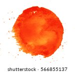 colorful abstract watercolor... | Shutterstock .eps vector #566855137