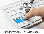 medicine doctor   nurse working ...   Shutterstock . vector #566859553