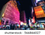 Blurried Picture Of New York...