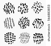 different types of vector  hand ...   Shutterstock .eps vector #566883853