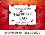 valentine's day sale offer ...   Shutterstock .eps vector #566921527