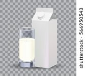 realistic white blank paper...   Shutterstock .eps vector #566950543