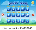 colorful level selection screen ...