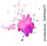 colorful abstract watercolor...   Shutterstock . vector #566966677