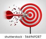 innovative goal strategy as a... | Shutterstock . vector #566969287