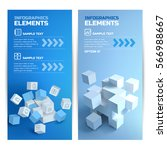 digital infographic vertical...   Shutterstock .eps vector #566988667