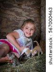Pretty Farm Girl Is Happy To...