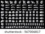 silver ribbon banner label... | Shutterstock .eps vector #567006817