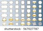 silver frame vector icon design ... | Shutterstock .eps vector #567027787