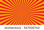 yellow orange rays poster.... | Shutterstock .eps vector #567030763