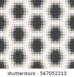 seamless halftone pattern  ... | Shutterstock .eps vector #567052213